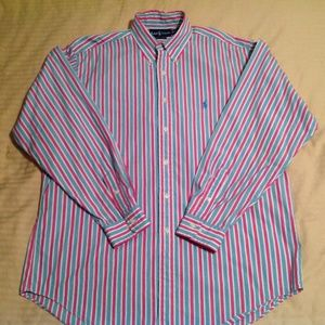 Ralph Lauren Men's Classic Fit Dress Shirt Size 16